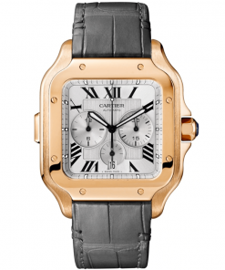 SANTOS DE CARTIER CHRONOGRAPH WATCH WGSA0017