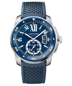 CALIBRE DE CARTIER DIVER BLUE WATCH WSCA0011