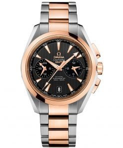 Omega Aqua Terra 150m Co-Axial GMT Chronograph Watch 231.20.43.52.06.001