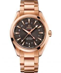 Omega Aqua Terra 150m GMT Watch 231.50.43.22.06.002