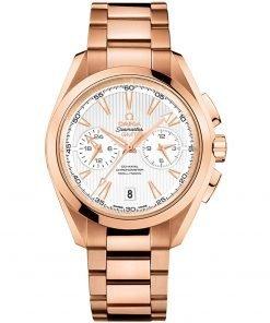 Omega Aqua Terra 150m Co-Axial GMT Chronograph Watch 231.50.43.52.02.001
