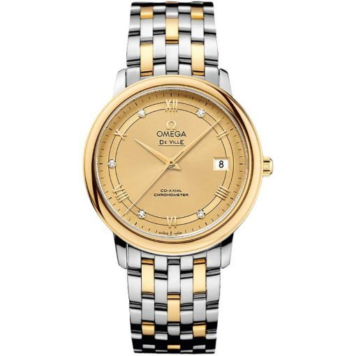 Omega De Ville Prestige Co-Axial 32.7 Midsize Watch 424.20.37.20.58.002