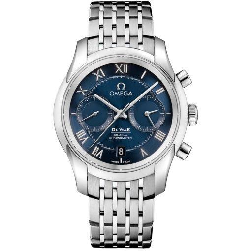 Omega De Ville Co-Axial Chronograph Watch 431.10.42.51.03.001