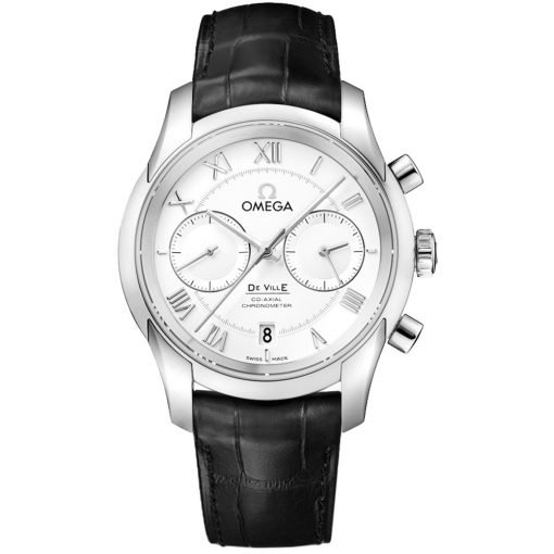 Omega De Ville Co-Axial Chronograph Watch 431.13.42.51.02.001