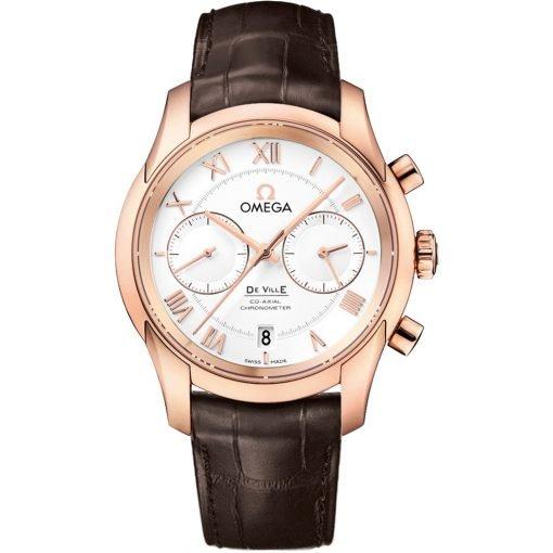 Omega De Ville Co-Axial Chronograph Watch 431.53.42.51.02.001