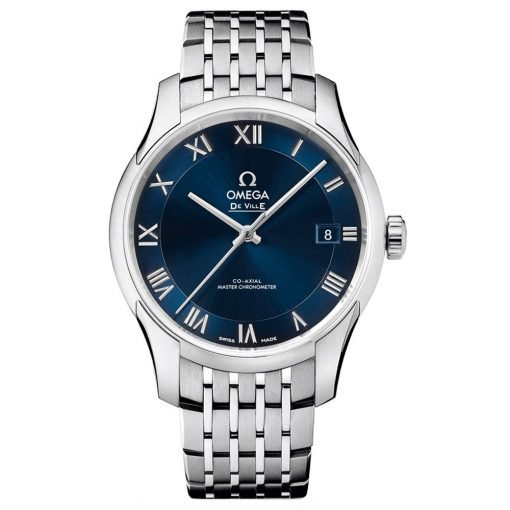 Omega De Ville Hour Vision Co-Axial Master Chronometer Watch 433.10.41.21.03.001