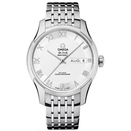 Omega De Ville Hour Vision Annual Calendar Co-Axial Master Chronometer Watch 433.10.41.22.02.001