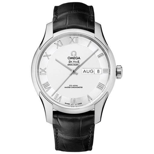 Omega De Ville Hour Vision Annual Calendar Co-Axial Master Chronometer Watch 433.13.41.22.02.001