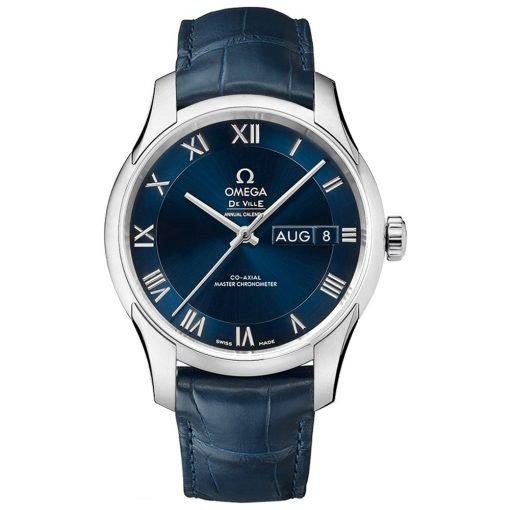 Omega De Ville Hour Vision Annual Calendar Co-Axial Master Chronometer Watch 433.13.41.22.03.001