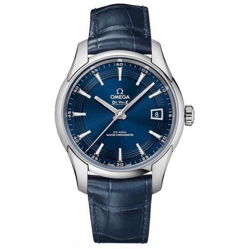 Omega De Ville Hour Vision Co-Axial Master Chronometer Watch 433.33.41.21.03.001