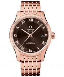 Omega De Ville Hour Vision Co-Axial Master Chronometer Watch 433.50.41.21.13.001