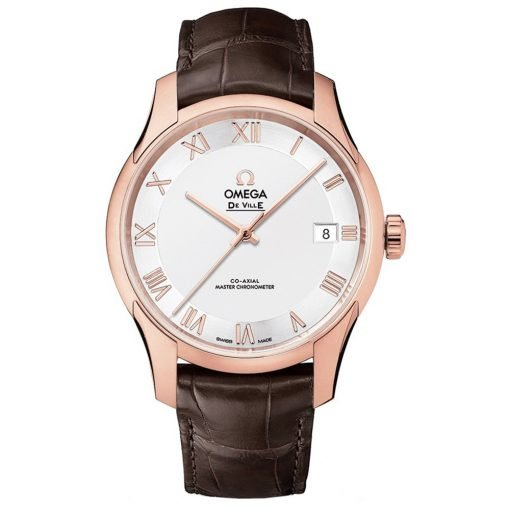 Omega De Ville Hour Vision Co-Axial Master Chronometer Watch 433.53.41.21.02.001