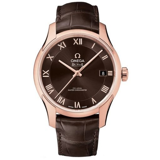 Omega De Ville Hour Vision Co-Axial Master Chronometer Watch 433.53.41.21.13.001