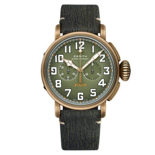 Zenith Pilot Type 20 Chronograph 29.2430.4069/63.c813 Watch