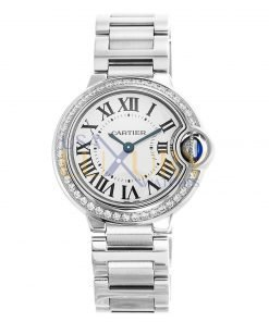 Cartier Ballon Bleu W4BB0015 Diamond Ladies Watch