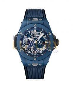 Hublot Big Bang MECA 10 414.ex.5123.rx Ceramic Blue Men's Watch