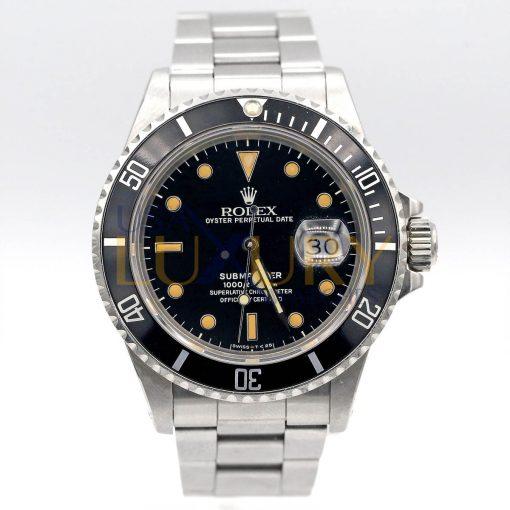 Rolex Submariner 16800 Vintage Stainless Steel Men's Watch