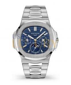 Patek Philippe 5740/1G Nautilus Perpetual Calendar White Gold 40mm Blue Dial