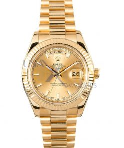 Rolex Day-Date 218238 G-serial 41mm 18K yellow gold