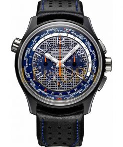 Jaeger-LeCoultre AMVOX 5 LMP1 44 mm Titanium and Ceramic, Blue and Silver Dial