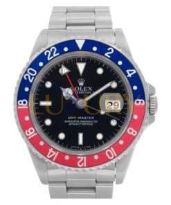 Rolex GMT Master Pepsi 16710 Blue/red 40mm Steel Oyster Watch