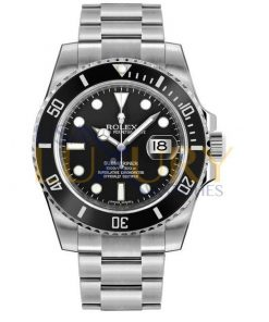 Rolex Submariner 116610LN Oyster Perpetual Date Black Dial Men's Watch