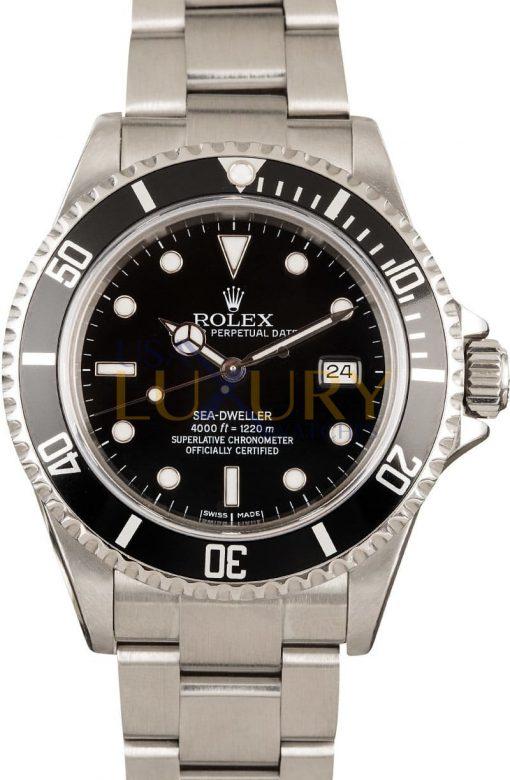Rolex Sea-Dweller 40mm 16600T Black Dial