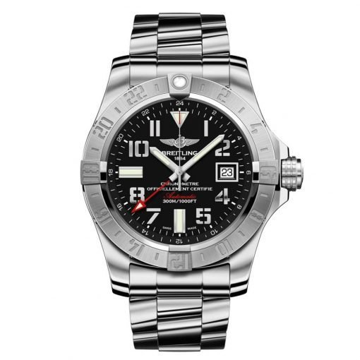 Breitling Watches - Avenger II GMT Stainless Steel Bracelet A3239011/BC34