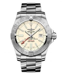 Breitling Watches Avenger II GMT Stainless Steel Bracelet A3239011/G778