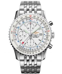 Breitling Watches Navitimer World Stainless Steel Navitimer Bracelet A2432212/G571
