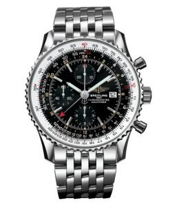 Breitling Watches Navitimer World Stainless Steel Navitimer Bracelet A2432212/B726