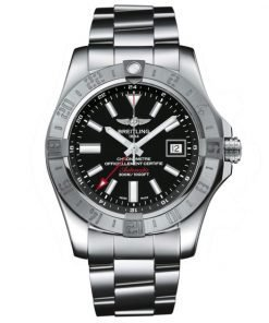 Breitling Watches Avenger II GMT Stainless Steel Bracelet A3239011/BC35