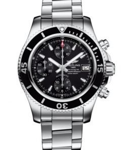 Breitling Superocean Chronograph 42, Stainless Steel, Volcano Black dial, A13311C91B1A1