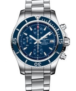 Breitling Superocean Chronograph 42, Stainless Steel, Blue dial, A13311D11C1A1