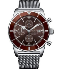 Breitling Men's Superocean Heritage II Chronograph 46, Stainless Steel, Bronze dial, A13312331Q1A1