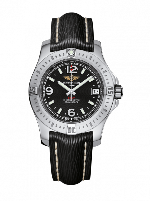 Breitling Ladies Colt 36, Stainless Steel, Volcano Black Dial, A74389111B1X1