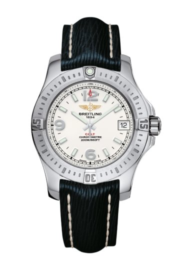 Breitling Ladies Colt 36, Stainless Steel, Stratus Silver Dial, A74389111G1X1