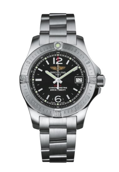 Breitling Colt Lady, Stainless Steel, 33mm, Volcano Black Dial, A77388111B1A1