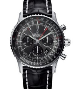Breitling NAVITIMER B03 CHRONOGRAPH RATTRAPANTE 45, Stainless Steel, Anthracite Dial, AB03102A1F1P2