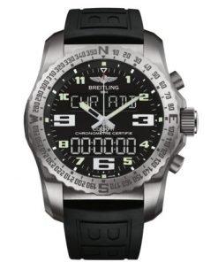 Breitling Men's COCKPIT B50, 46mm, Titanium, Black Dial, EB5010221B1S1