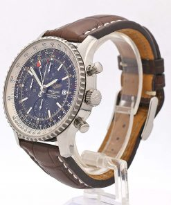 Breitling Navitimer World 46mm Stainless Steel, Black Dial, A24322