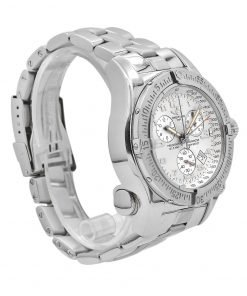 Breitling Emergency Mission 45mm, Stainless Steel Watch, Ivory dial, A7332211-G616