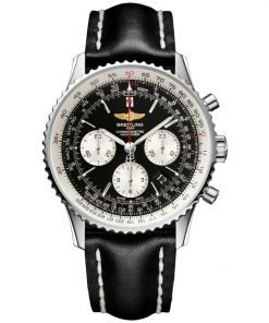 Navitimer Automatic Chronograph Black Dial Mens Watch BTAB012012-BB01BKLT