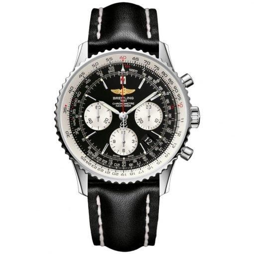 Navitimer Automatic Chronograph Black Dial Mens Watch BTAB012012-BB01BKLT