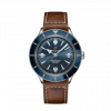 Breitling Superocean Heritage'57, 42mm, Stainless Steel, Blue dial, A10370161C1X1