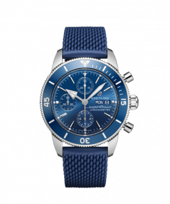 Breitling Superocean Heritage Chronograph 44, Stainless Steel, Blue dial, A13313161C1S1