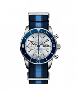 Breitling Superocean Heritage Chronograph 44 Ocean Conservancy Limited Edition, Stainless Steel, Silver dial, A133131A1G1W1
