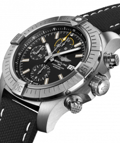 Breitling Avenger Chronograph 45, Stainless Steel, Black dial, A13317101B1X1