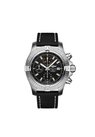 Breitling Avenger Chronograph 45, Stainless Steel, Black dial, A13317101B1X1