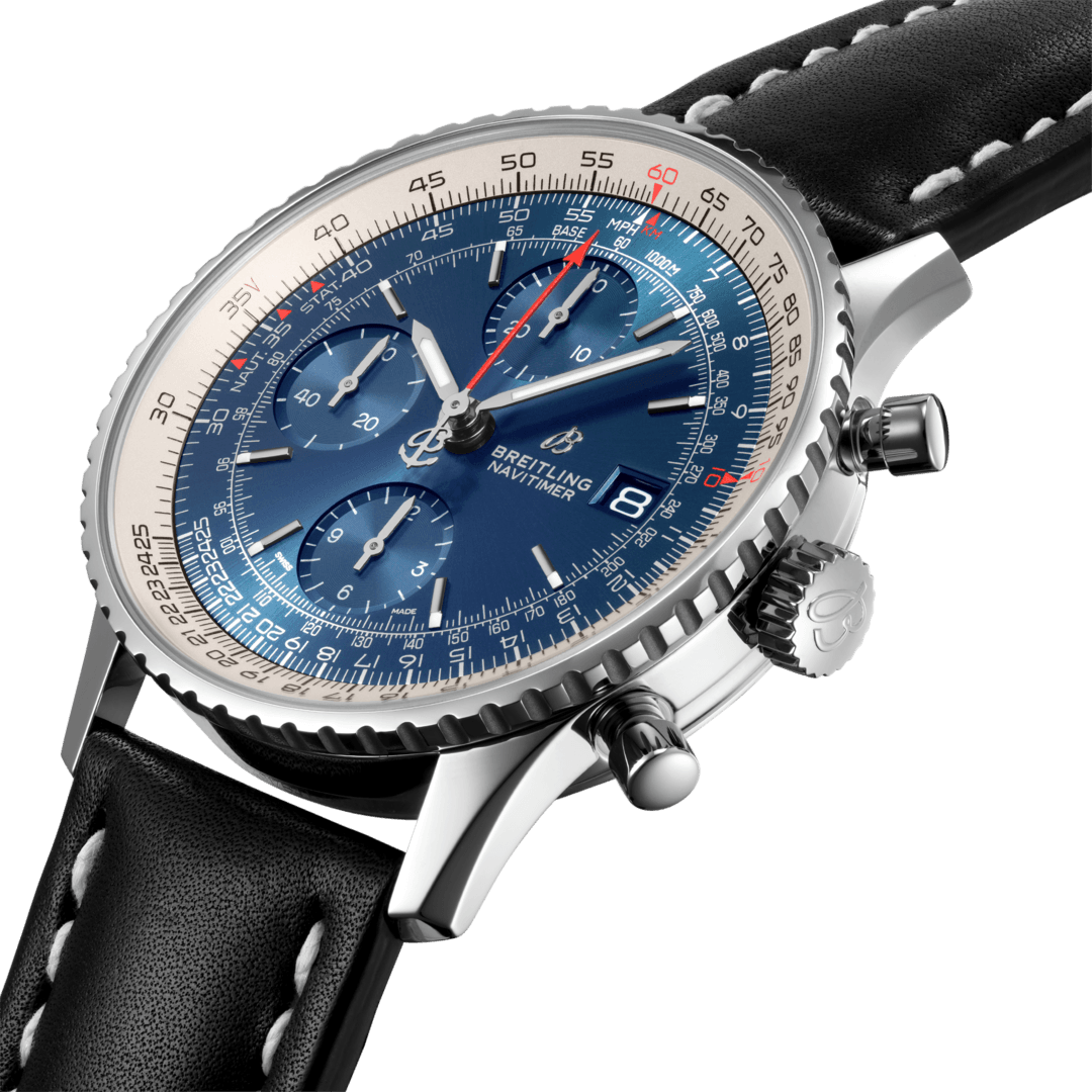 Breitling Navitimer Chronograph 41, Stainless Steel, Blue dial, A13324121C1X2